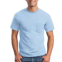 Ultra Cotton 100% Cotton T Shirt with Pocket Thumbnail